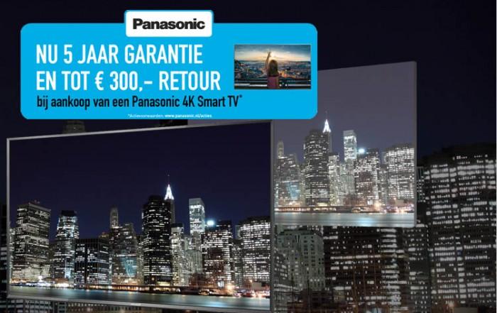 Panasonic 4K promotie