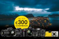 Nikon Wintercashback actie